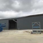 construction de bâtiment industriel